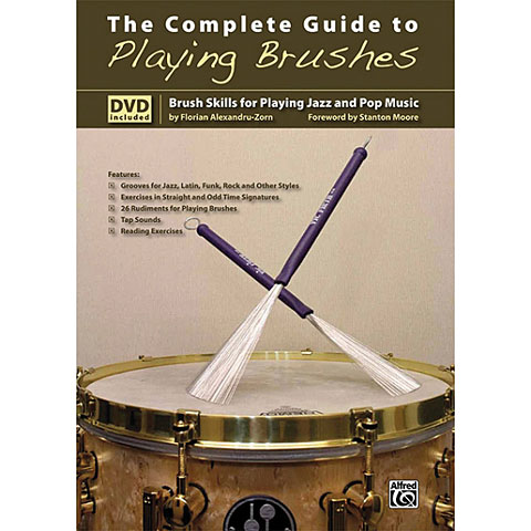 Alfred KDM The Complete Guide to Playing Brushes