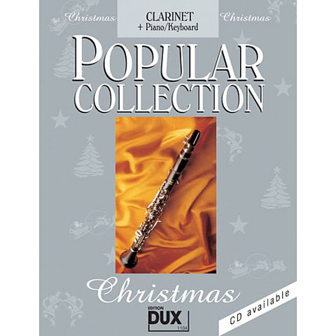 Dux Popular Collection Christmas for Clarinet/Piano