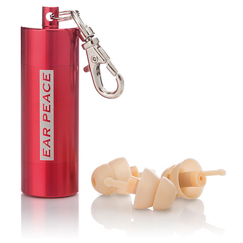 Ear Peace HD High Fidelity - red