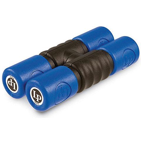 Latin Percussion Twist Shaker Single Lock Blue/Medium