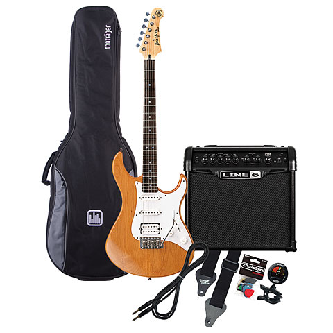 Yamaha Pacifica 112 YNS / Line 6 Spider Classic 15 MP-Bundle