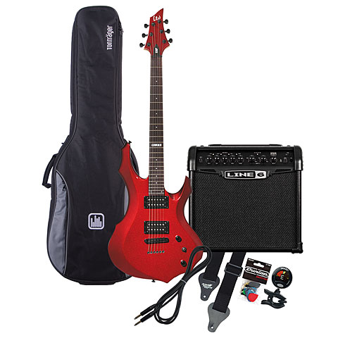 ESP LTD F-50 BCH / Line 6 Spider Classic 15 MP-Bundle