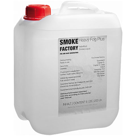 Smoke Factory Heavy Fog Plus 5L