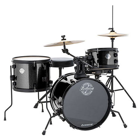 Ludwig Pocket Kit Black Sparkle