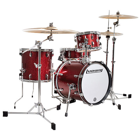 Ludwig Breakbeats LC179X025 Red Sparkle