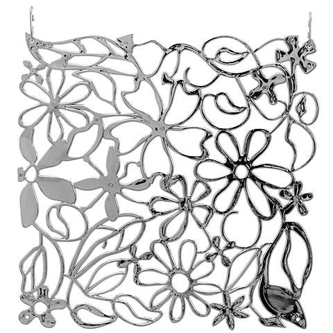 Europalms Raumteiler Flower silber 4x
