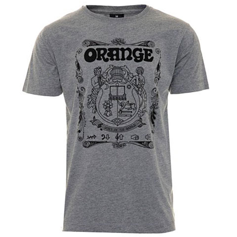 Orange Crest GREY XL