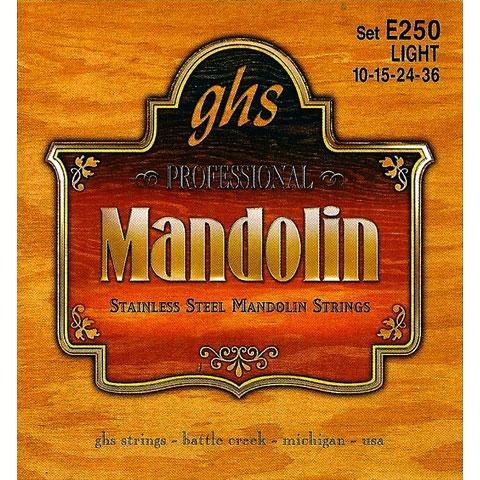 GHS E250 Stainless Steel Mandolin Strings