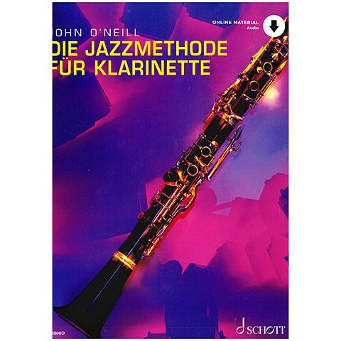 Schott Die Jazzmethode für Klarinette