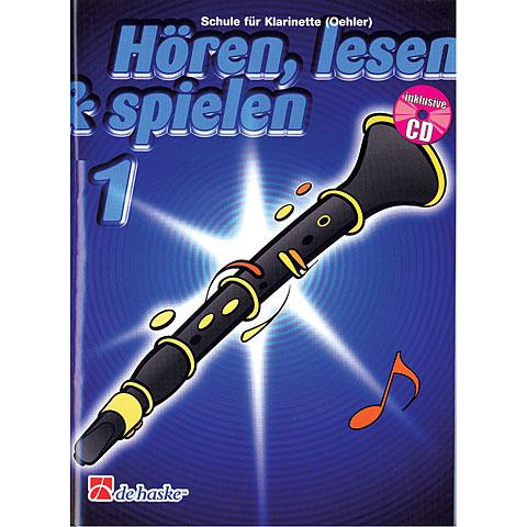 De Haske Hören,Lesen&Spielen Bd. 1 für deutsche Klarinette (Oehler)