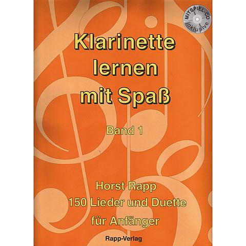 Rapp Klarinette lernen mit Spaß Bd.1