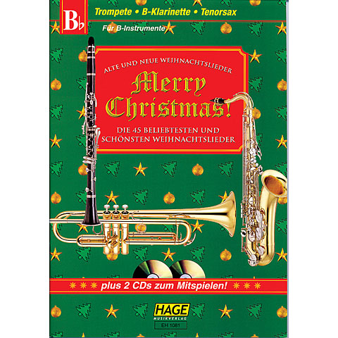 Hage Merry Christmas für B-Instrumente