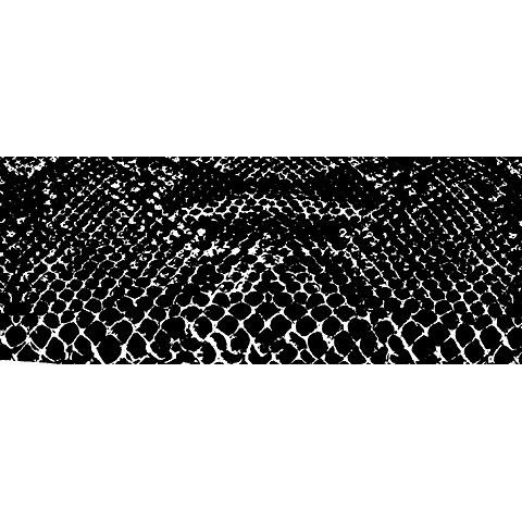 T.A.D. snakeskin 136x400cm
