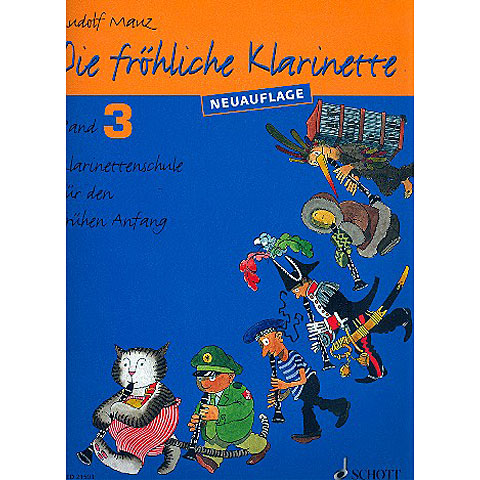 Schott Die fröhliche Klarinette Bd.3
