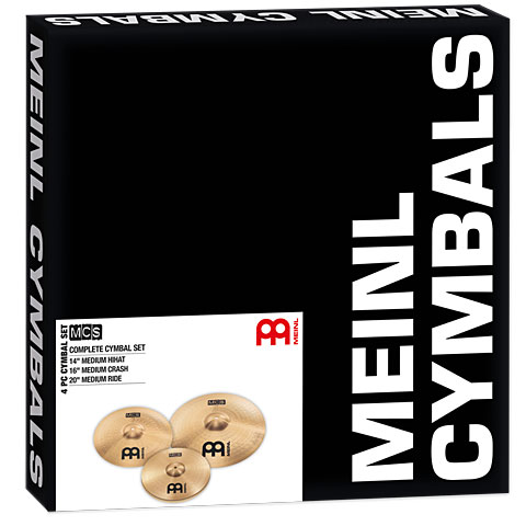Meinl MCS Complete Cymbal Set-Up