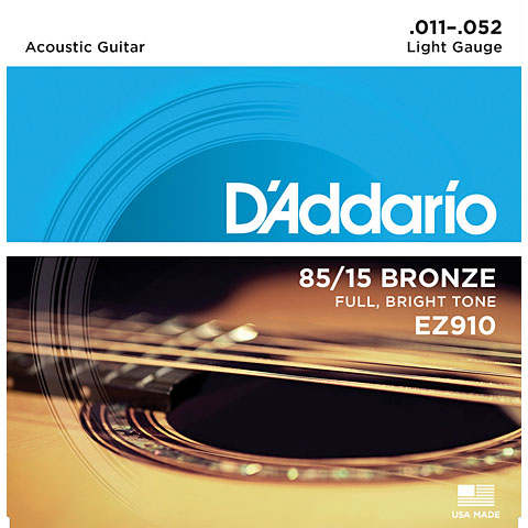 D'Addario EZ910 .011-052