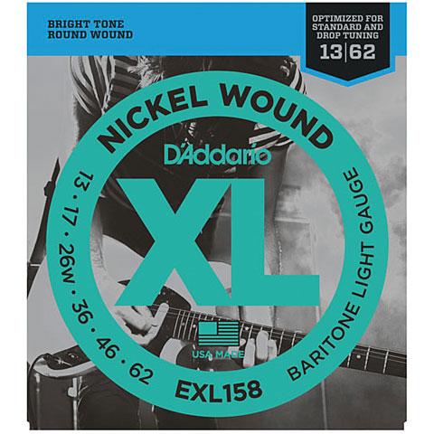 D'Addario EXL158 Nickel Wound .013-062
