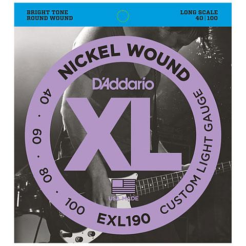 D'Addario EXL190 Nickel Wound .040-100