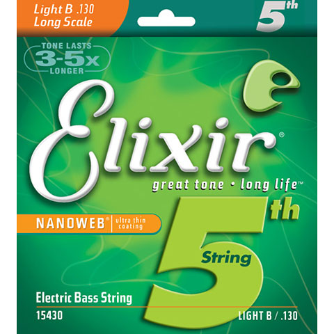 Elixir Nanoweb 5th Light B .130