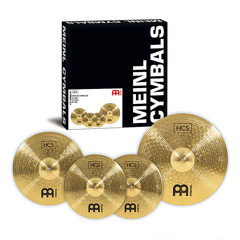 Meinl HCS Complete Cymbal Set-up (14HH/16CR/20R)