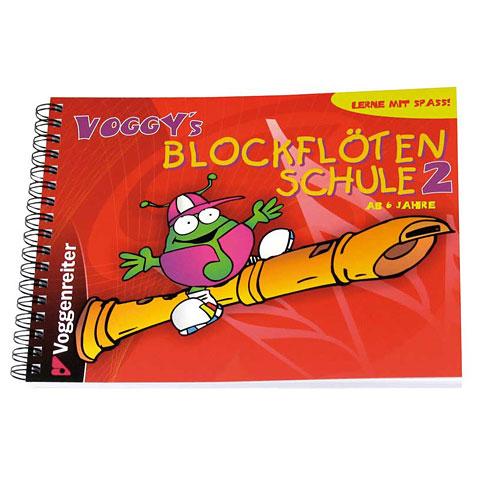 Voggenreiter Voggy's Blockflötenschule Bd.2