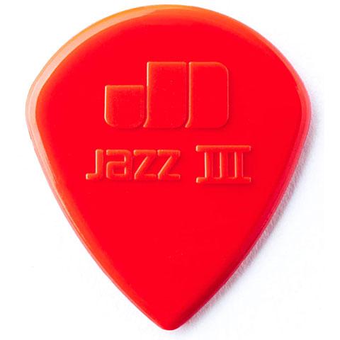 Dunlop Nylon Jazz III rojo (6 unid.)