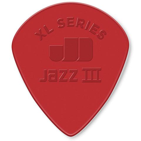 Dunlop Nylon Jazz III XL roja (6 unid.)