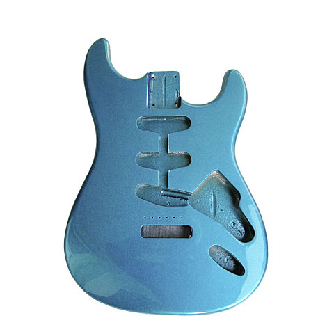 Göldo Strat US Erle, Lake Placid Blue