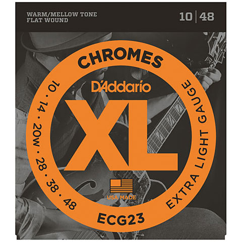 D'Addario ECG23 Chromes .010-048