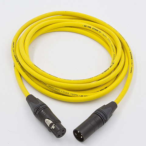 AudioTeknik MFM 1,5 m yellow