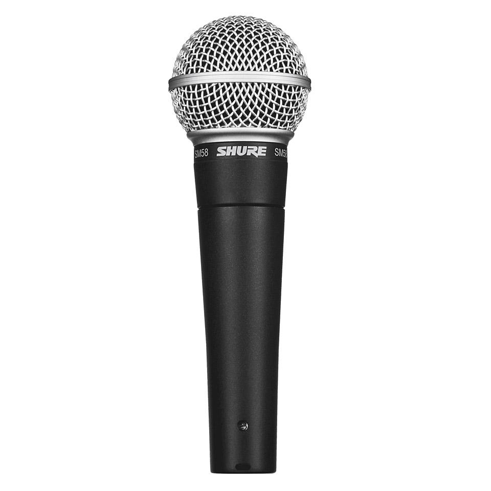 Shure SM58 « Micrófono