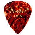 Púa Fender 351 shell, thin (12 unid.)