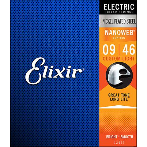 Elixir Nanoweb Custom Light .009-046