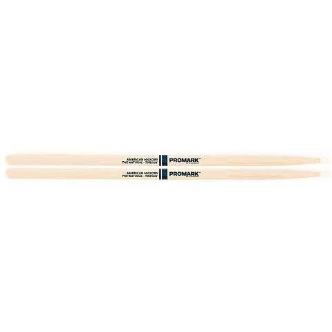 Promark Hickory 5A  The Natural  Nylon Tip