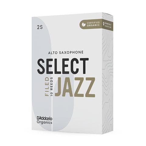D'Addario Select Jazz Filed Alto Sax 2S