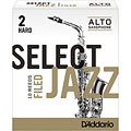 D'Addario Select Jazz Filed Alto Sax 2H « Cañas
