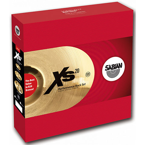 Sabian XS 20 Rock Performance Set
