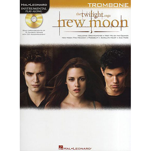 Hal Leonard Twilight New Moon for trombone