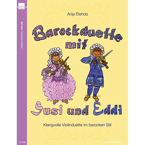 Heinrichshofen Barockduette mit Susi und Eddi