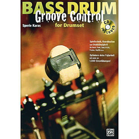 Alfred KDM Bass Drum Groove Control