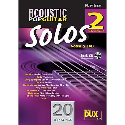 Dux Acoustic Pop Guitar Solos 2