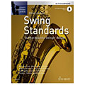 Libro de partituras Schott Saxophone Lounge - Swing Standards