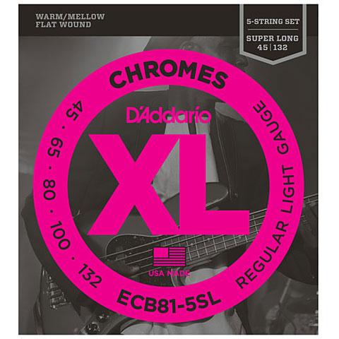 D'Addario ECB81-5SL Chromes .045-132