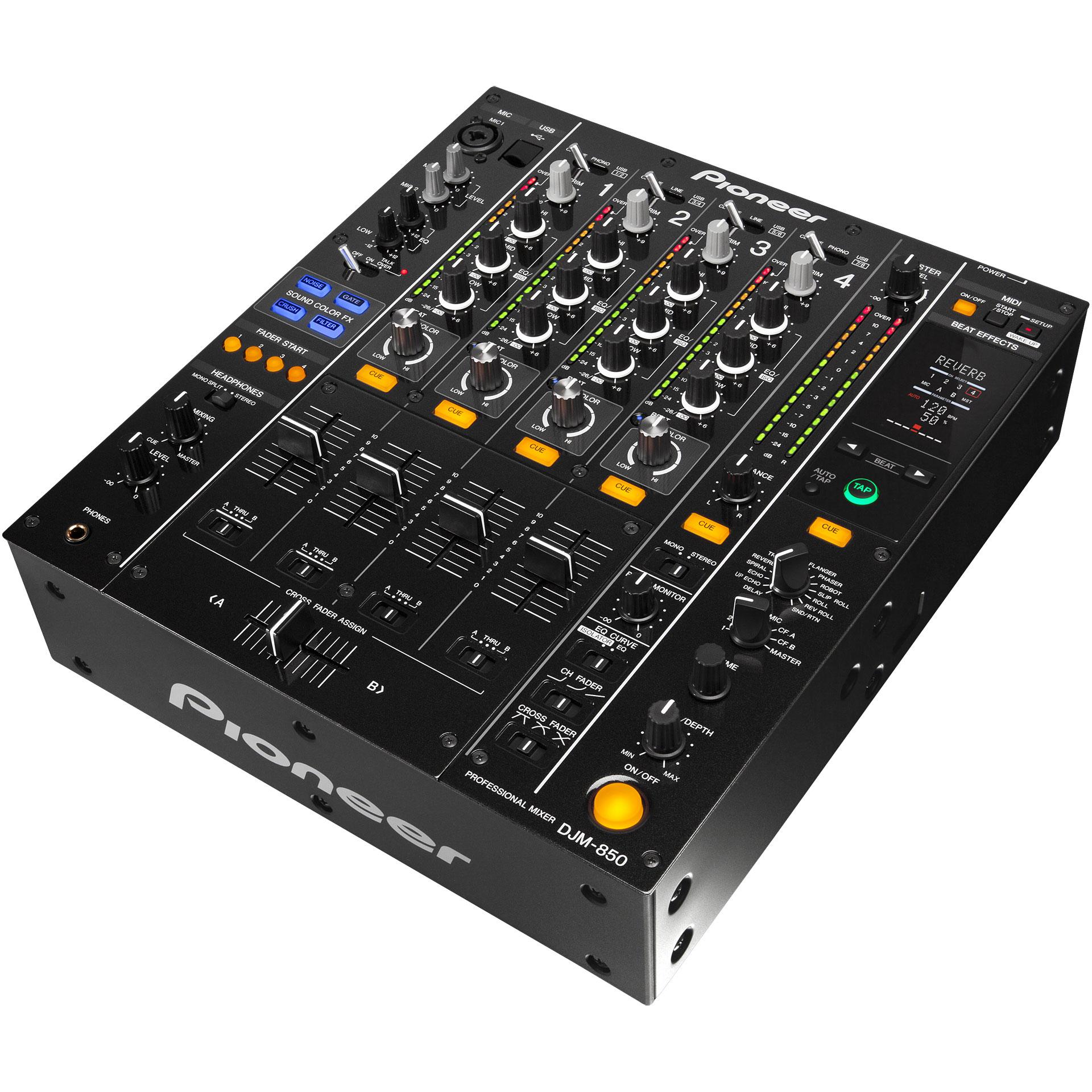 Pioneer djm 850 k mesa de mezclas dj - Mesa dj pioneer ...