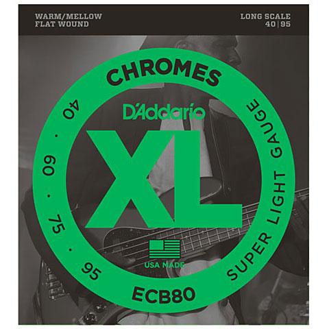 D'Addario ECB80 Chromes .040-095