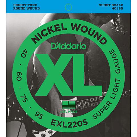 D'Addario EXL220S Nickel Wound .040-095