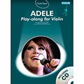 Music Sales Adele for violin « Play-Along