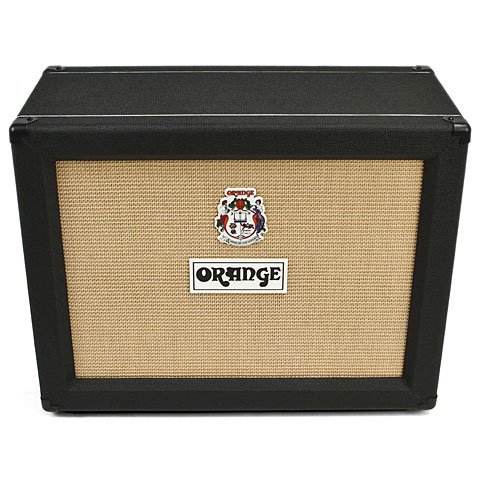 Orange PPC212 Open Back, 2x12  BLK