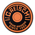 "Gretsch Drums 12"" Orange Round Badge Logo Practise Pad « Pad de práctica"
