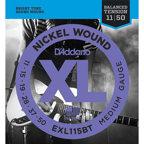 D'Addario EXL115BT Nickel Wound .011-050